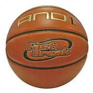 Мяч баскетбольный полупрофессиональный - AND1 FAST BREAK, фото 1