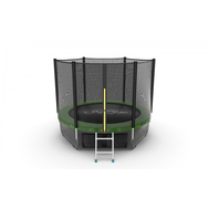Батут EVO JUMP EXTERNAL 8 FT GREEN + LOWER NET, фото 1