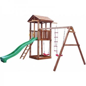 Детская площадка МОЖГА СПОРТИВНЫЙ ГОРОДОК 1 С КАЧЕЛЯМИ, фото 3